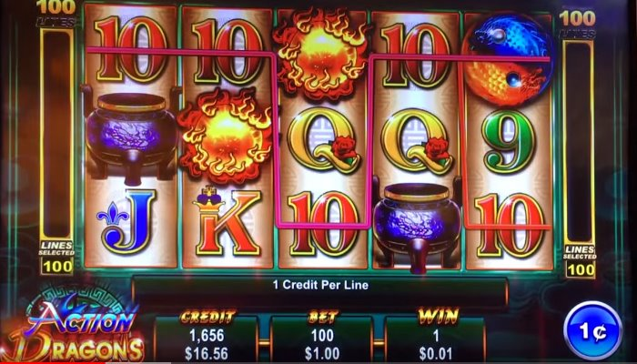 Ainsworth Action Dragons Slot Review & Free Play