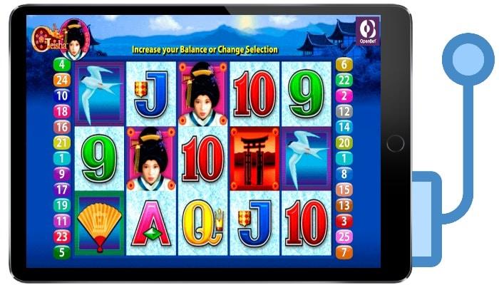 Play Geisha Slots for Free or Real Money