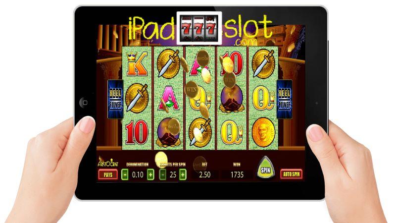 Pompeii Slots app for iPad Casino Players