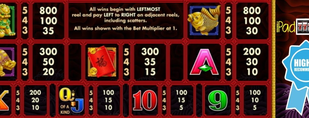 5 Dragons Deluxe Slots Free Play Guide