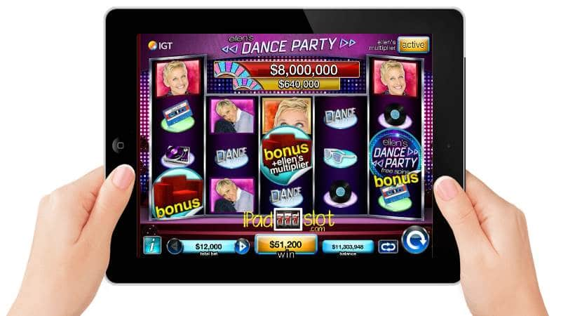 Ellen's Dance Party Free Online Slot Game