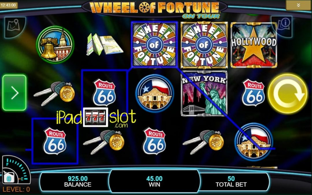 Wheel Of Fortune On Tour by IGT Free Play Guide