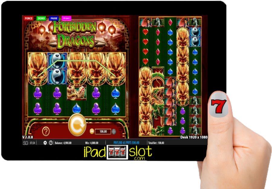 Forbidden Dragons WMS Slots Casino App