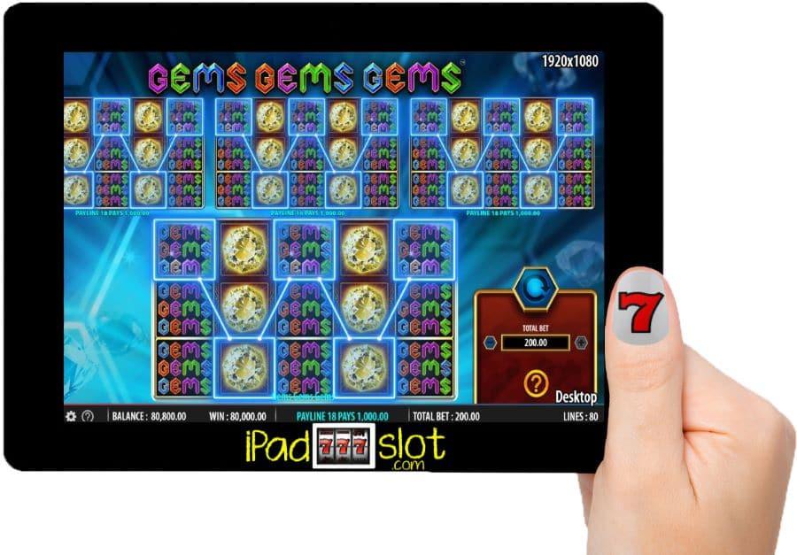 Gems Gems Gems Williams Free Slots Game