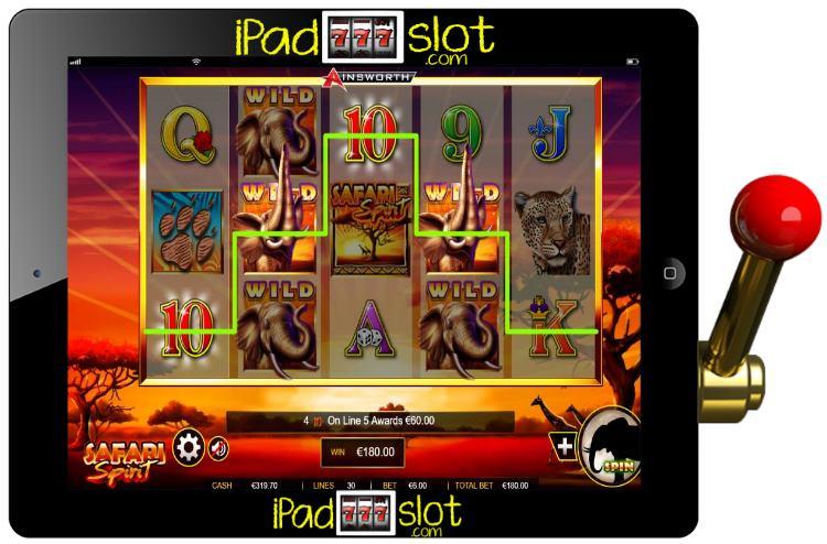 Safari Spirit Ainsworth Free Mobile Slot App