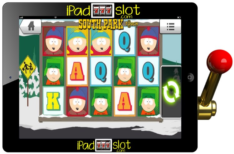 South Park Free Slot Game App for iOS or Android