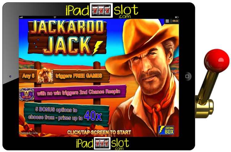 Jackaroo Jack Lightning Box Free iOS and Android Pokies