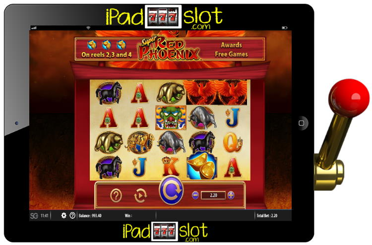 Super Red Phoenix Free SG Slot Review
