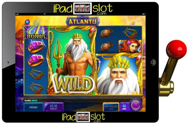 King of Atlantis Free IGT Slot Game & Guide