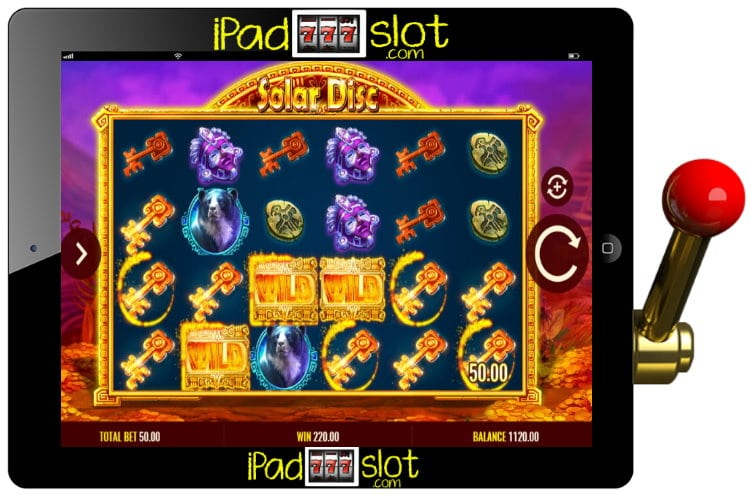 Solar Disc Free IGT Slots Game