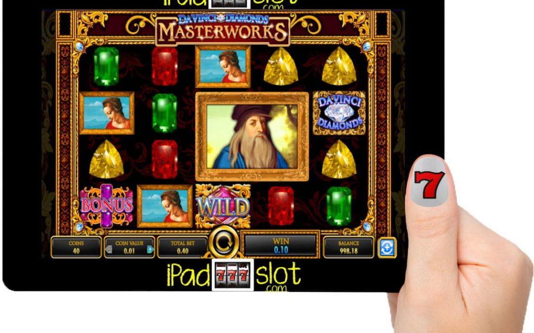 IGT Da Vinci Diamonds Masterworks Free Slot Game