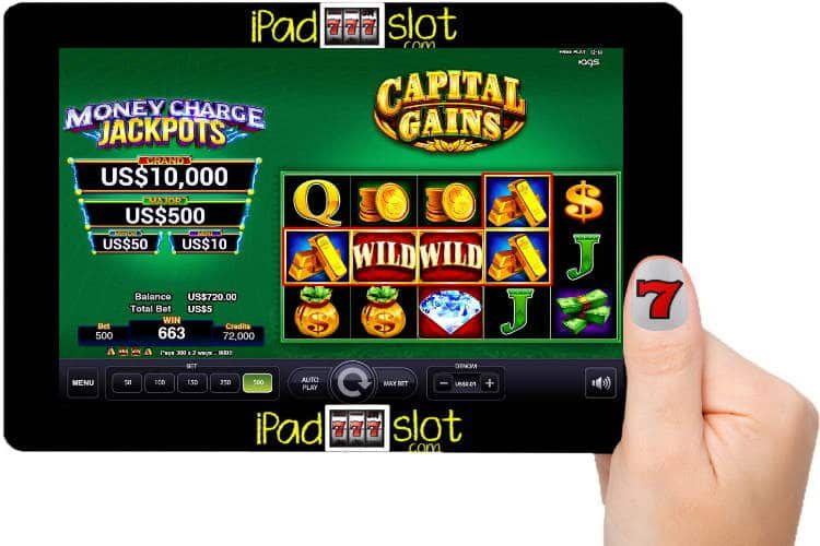 Capital Gains Free AGS Slot Game Guide