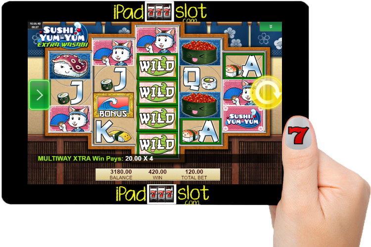 Sushi Yum Yum Free IGT Slot Game Guide