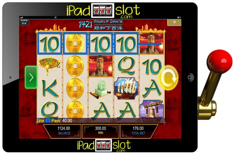 1421 Voyages of Zheng He Free IGT Slot Game Guide