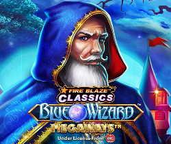 Fire Blaze: Blue Wizard Megaways